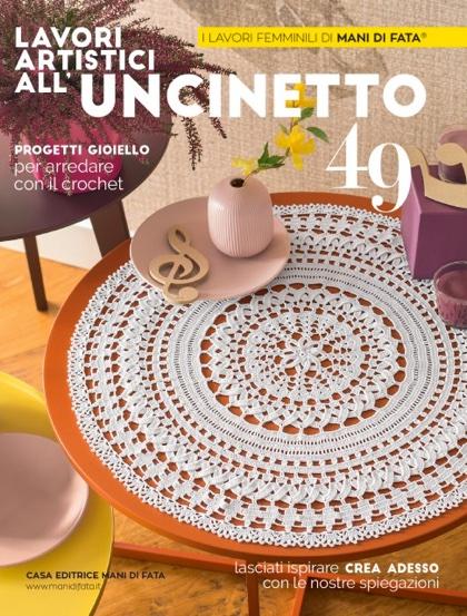 Lavori Artistici Alluncinetto 49 From Mani Di Fata Books And