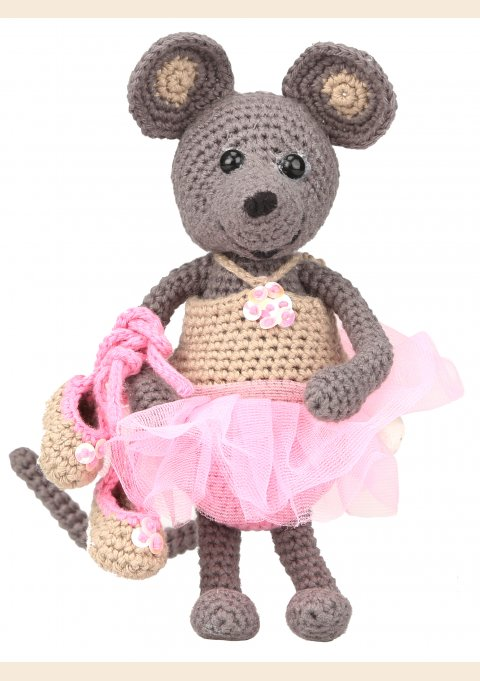 ballerina mouse pattern and accessories ella emily from go
