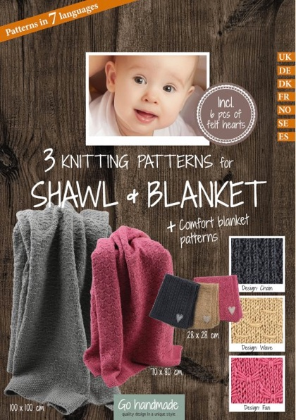 Baby Knitting Pattern Shawl And Blanket Accessories From Go