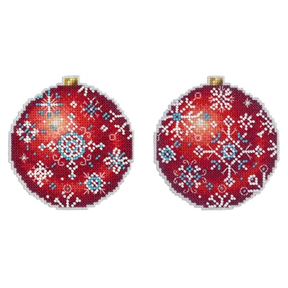 christmas tree decoration winter ruby from mp studia. Black Bedroom Furniture Sets. Home Design Ideas