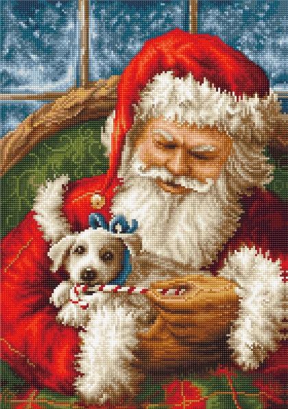 Santa Claus - Needlepoint