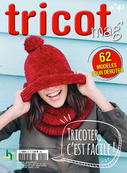 Tricot mag n° 41 - Tricoter c'est facile From Les édition de saxe - Books and Magazines - Books ...
