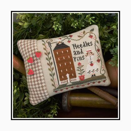 10/% Off Little House Needleworks Counted X-stitch chart Keeper of the Pins
