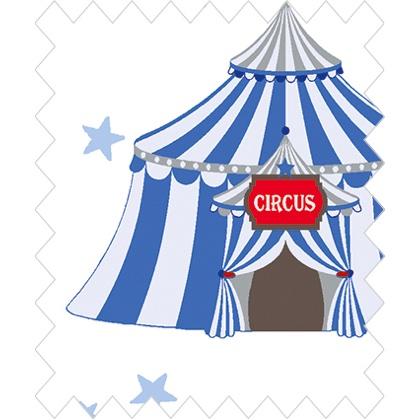 Ring a Roses Circus - Tent Blue From Gütermann - American print cotton fabrics - Fabrics - Casa Cenina  sc 1 st  Casa Cenina & Ring a Roses Circus - Tent Blue From Gütermann - American print ...