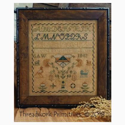 1842 SAW Sampler by Threadwork Primitives