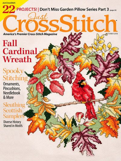 Just Cross Stitch October 2018 From Just Crossstitch