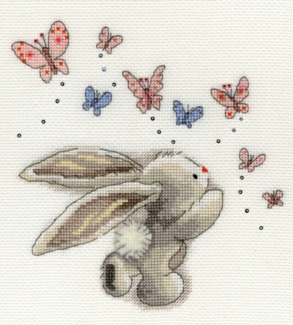 Bothy Threads Cross Stitch Kit Butterfly Bouquet