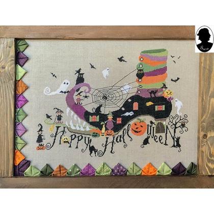 happy halloween from sara guermani cross stitch charts cross