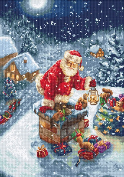 Santa's gifts - Needlepoint From Luca-S