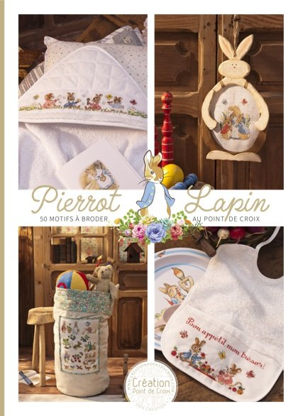 Magazine Création Point de Croix - Pierrot-Lapin From ...