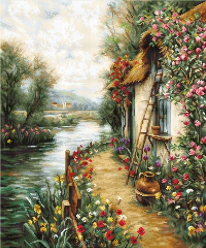 Along the River - Needlepoint