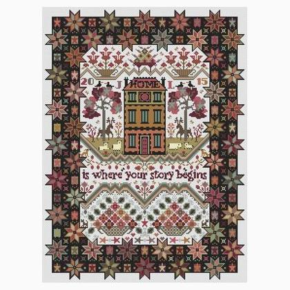 The Wishing Tree Sampler Long Dog Samplers Cross Stitch Pattern