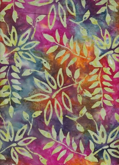 Batik Ferns 004 From Eyelike Fabrics Bali Amp Batik