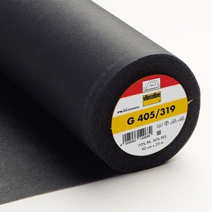 Fusible Interlining G 405 - Black