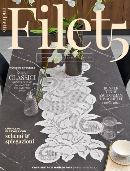 Uncinetto Filet 5 From Mani Di Fata Books And Magazines Books