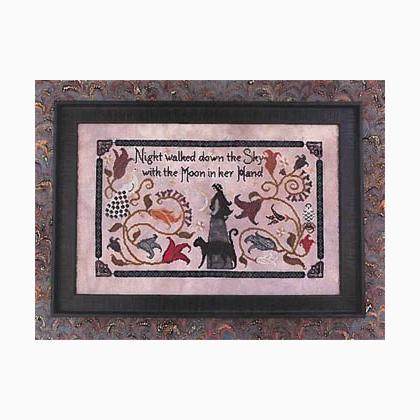 Greyhound Year Cross Stitch Chart