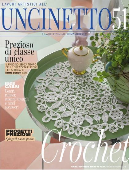 Lavori Di Uncinetto.Lavori Artistici All Uncinetto 51 From Mani Di Fata Books And