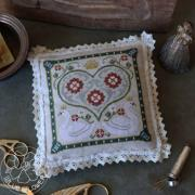 French Kitchen Hands on Design Cross Stitch Pattern Preorder Fraise et Menthe Strawberries /& Mint Needlework Expo Release