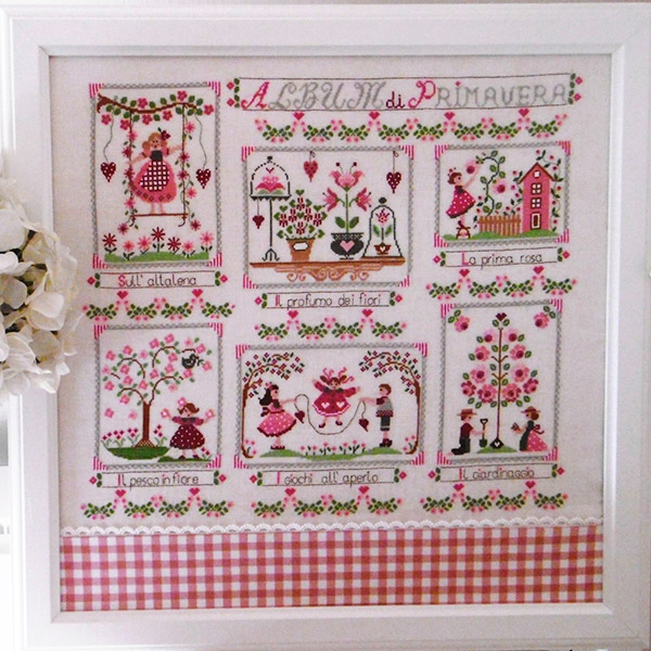100% Made in Italy Cross Stitch Charts