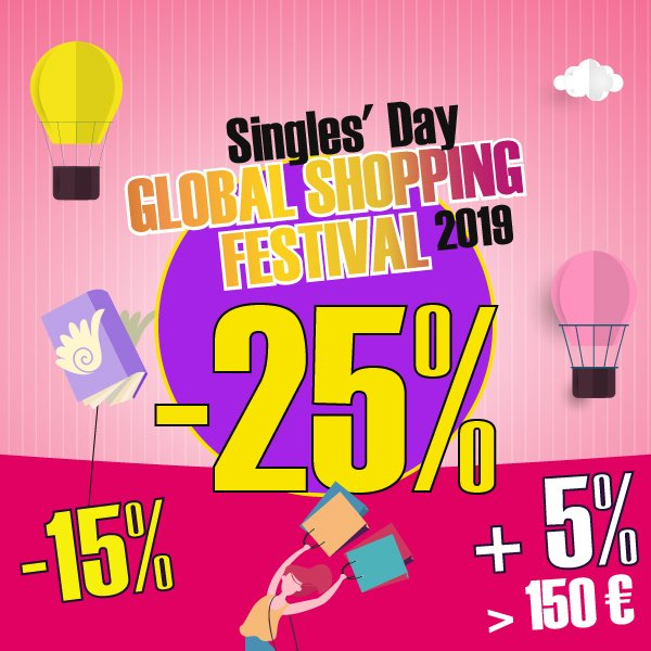 Singles' Day Global Shopping Festival 2019