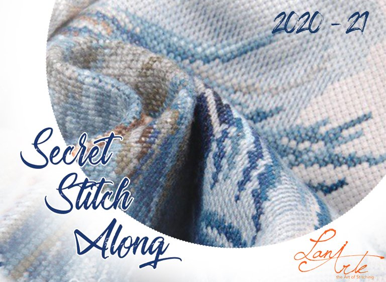 Secret Stitch Along Lanarte 2020