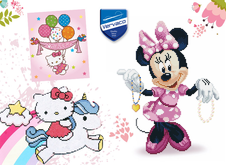 Disney and Hello Kitty dress up to glow! And ... you'll get an immediate 20% off on their prices!