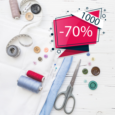1000 items 70% off