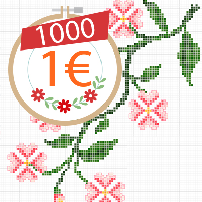 1000 Patterns for 1 Euro
