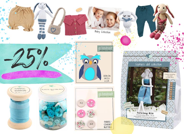 An unusual discount for you: Go Handmade 25% off