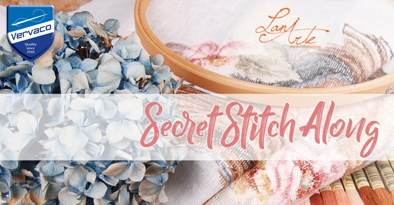 Lanarte Secret Stitch Along 2017: let's go back for seconds!