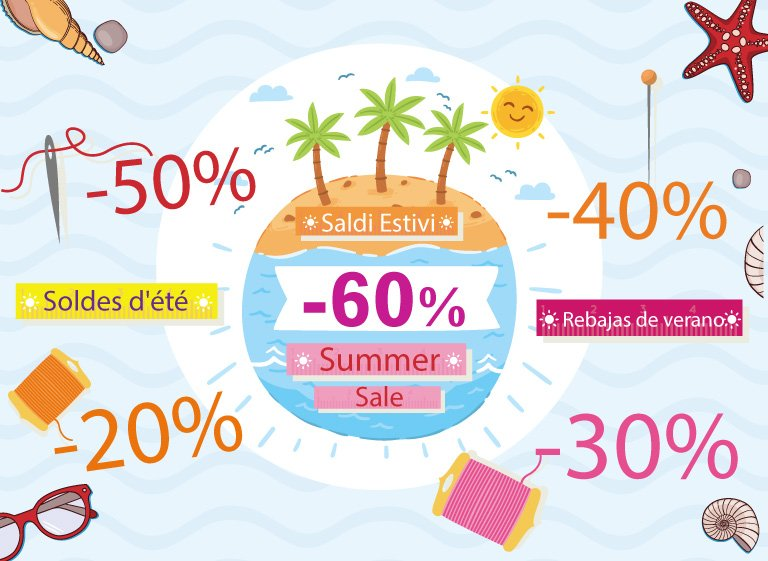 July: it's time for Summer sales