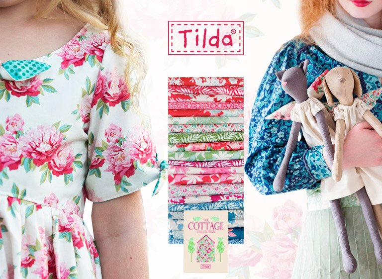 Tilda once more: The brand new Cottage Collection from Tone Finnanger is here!