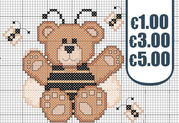 Over 1000 pattern for just 1€, 3€ and 5€ Hurry up: you'll definitely find yours!