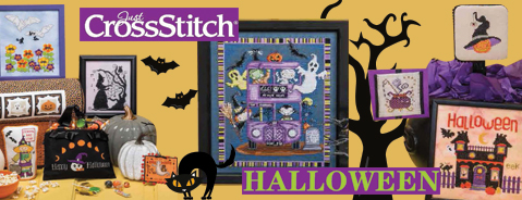 Halloween special, without waiting for the Fall: 64 terrific ideas to stitch!